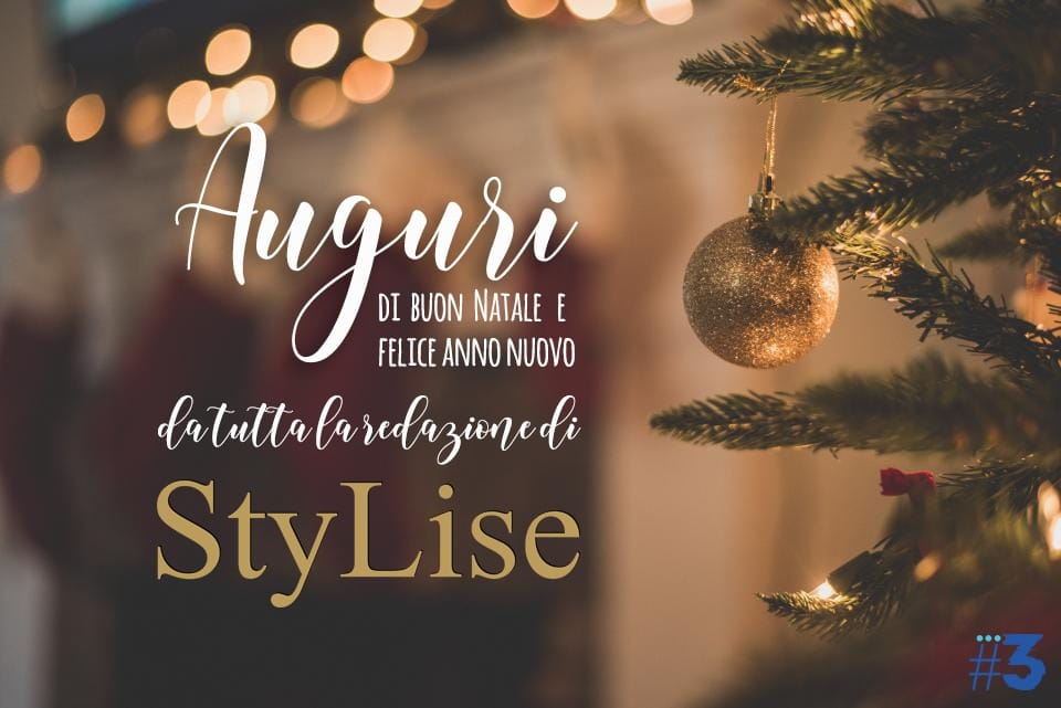 """Auguri di buon Natale dalla redazione di """"Stylise Magazine"""""""