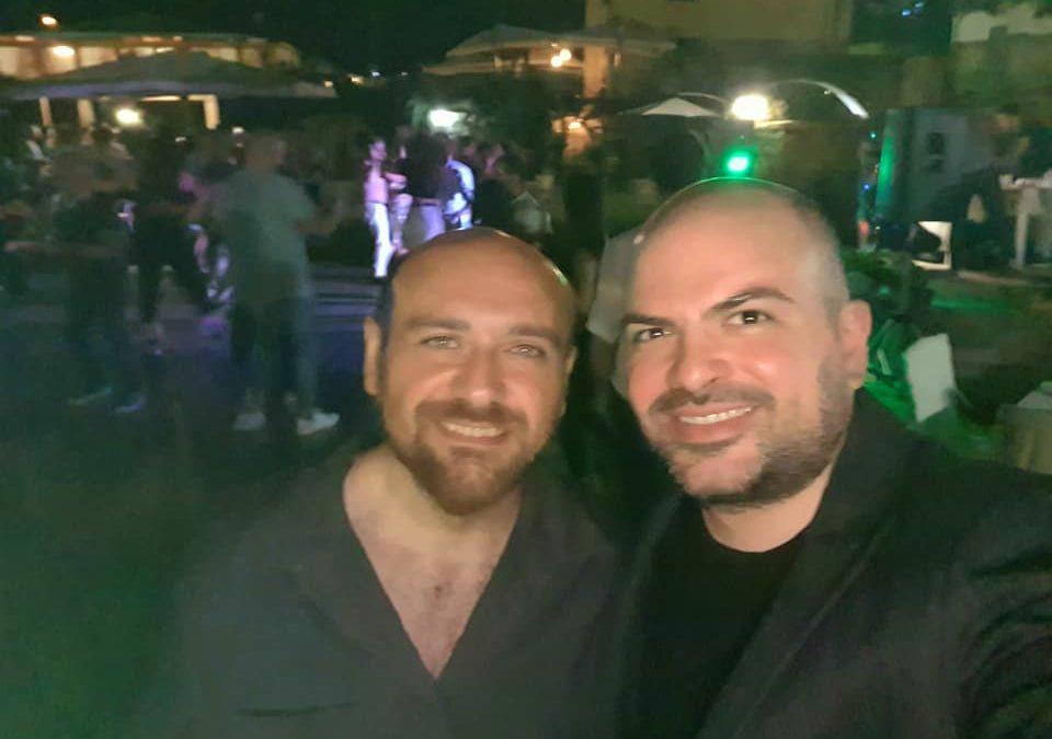 A Tufo ho ritrovato, davanti un buon bicchiere di vino irpino DOCG, il mio caro amico Fabio